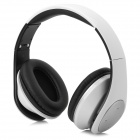 Qiyin MD-990 Wireless Stereo Headset w/ TF / FM - White + Black