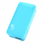 Buccker i5 Mobile 5600mAh Power Bank for Ipad / Cell Phone - Lake Blue