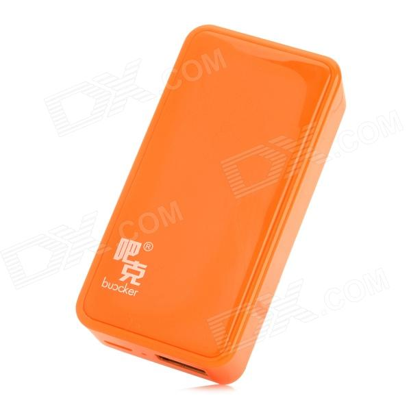 Buccker i5 Mobile 5600mAh Power Bank for Ipad / Cell Phone - Orange