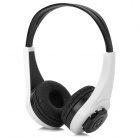 Qiyin MD-333 Multifunctional Earphone w/ TF - White + Black