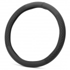 Y-1 Car Steering Wheel Imitation Sheep Skin Cover - Black (37~38.5mm)