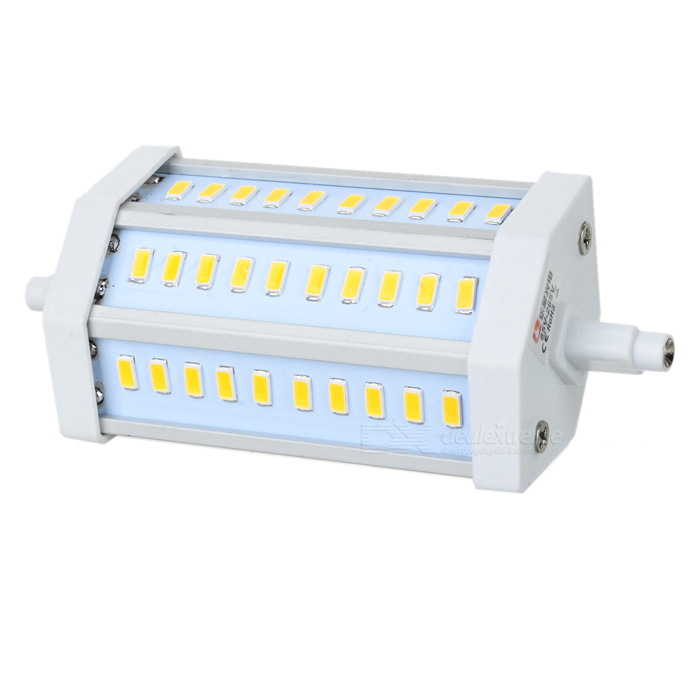 LeXing R7S 10W 980lm 30-SMD 5730 LED Warm White Light Project Lamp (AC 85~265V) r7s 15w 5050 smd led white light spotlight project lamp ac 85 265v