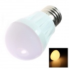 E27 3W 260lm 2500K 20 x SMD 3014 LED Warm White Light Lamp Bulb - White (AC 220~240V)
