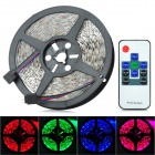 JRLED 60W 3600lm 300-SMD 5050 LED RGB Car Light Strip w/ 30m Remote Controller (12V / 5m)