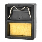 WLXY WL-002 Mini Soldering Iron Stand w/ Cleaning Sponge - Black + Yellow