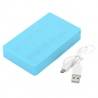 PG-1 Universal Dual USB ''14000mAh'' Portable Power Bank for Ipad / Iphone / Samsung + More - Blue