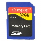 Ourspop DM-25 SD-Speicherkarte - Deep Blue (32GB / Class 10)