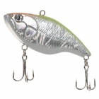 Lifelike Fish Style 6-Hook Fishing Bait - Silver + Yellow