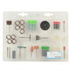 WLXY WL-105 Professional 105-in-1 Polish Grinding Tools Set - White + Brown