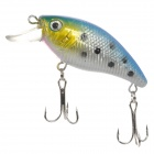 021 Lifelike Fish Style 6-Hook Fishing Bait - Silver