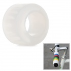 OQsport DIY Cool Bike Silicone Handlebar Grip Cover - White