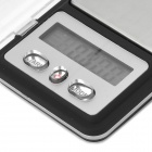 LSON 333 100G Mini Digital Scale - Black (1 * CR2032)