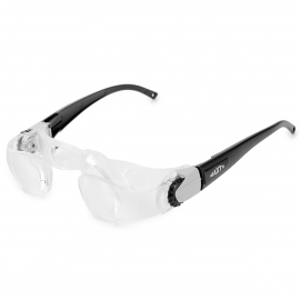 7102J 2.1X Special TV Glasses Goggles for Shortsightedness People - Grey
