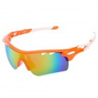 OREKA WG-565 Outdoor Sports Polarized Goggles w/ Replacement Lenses - Orange + White