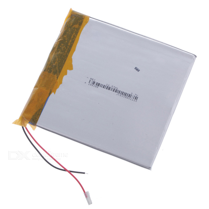 "Replacement 3.7V ""3200mAh"" Li-ion Battery for 7"" Tablet PC - Silver"
