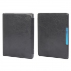 Protective PU Leather Flip Case Cover w/ Auto Sleep for Kobo Non HD - Black