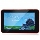 "A70M 7.0"" Dual Core Android 4.2 Tablet PC w/ 512MB RAM, 8GB ROM, Wi-Fi, Dual Camera - Red"