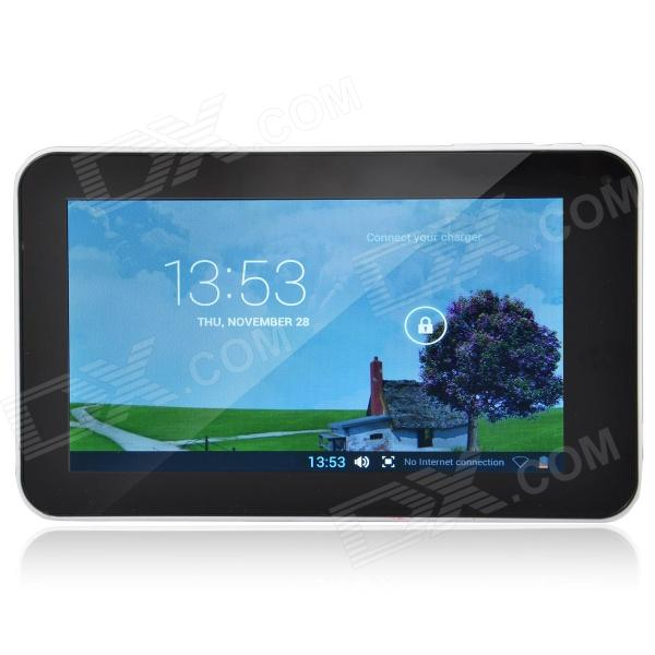 A70M 7.0 Dual Core Android 4.2 Tablet PC w/ 512MB RAM, 8GB ROM, Wi-Fi, Dual Camera - White a70m 7 0 android 4 2 dual core tablet pc w 512mb ram 8gb rom wi fi dual camera blue