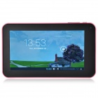 "A70M 7.0"" Dual Core Android 4.2 Tablet PC w/ 512MB RAM, 8GB ROM, Wi-Fi, Dual Camera - Pink"