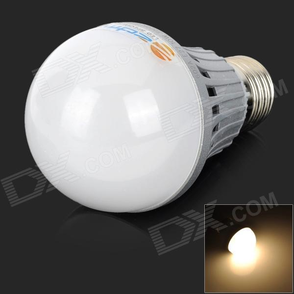 ZDM QE2760115WW7L E27 10W 820lm 3000K 20-SMD 5730 LED Warm White Bulb - White + Grey (AC 200V) marsing e14 frosted cover 10w 1000lm 3500k 56 x smd 5730 led warm white light bulb lamp ac 220v
