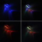 7 Colors Flashing Light Lamp Bulb Keychain (3 x AG3)