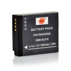DSTE DMW-BLH7 BLH7E BLH7GK Battery for Panasonic LUMIX DMC-GM1KS GM1K GM1 Digital Camera