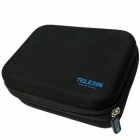 TELESIN Protective EVA Camera Storage Bag for GoPro HD Hero3+ / HERO3 / HERO2 - Black