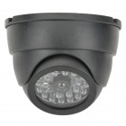 AHOLDB 2501 Dummy Camera Style Red Light LED Lamp - Black (2 x AA)