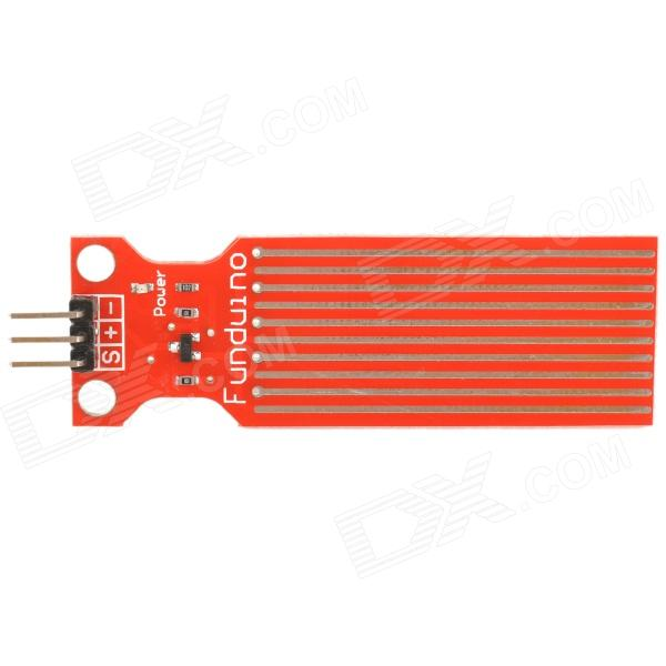 Water Sensor Module for Arduino Moisture / Drop / Depth of Water Test - Red edge finder in order to accurately determine the location of the center of a detection tool workpiece touch point sensor for cnc