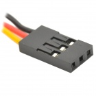 3-Pin 22cm 2.54mm DuPont Lines - Yellow + Red + Black