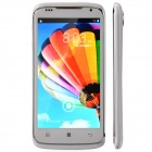 "S820 Quad-Core Android 4.2 WCDMA Bar Phone w/ 4.7"" / Wi-Fi / Camera / FM / GPS - White + Silver"