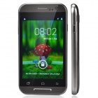 "C2i Dual-Core Android 4.2 WCDMA Bar Phone w/ 3.9"" / Wi-Fi / Camera - Silver + Black"