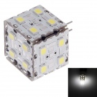 SOBO G4 3W 330lm 6000K 20 x SMD 2835 LED White Light Lamp - (9~24V)