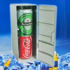Mini USB Heater Cooler Fridge - Silver