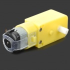 DIY 130 TT Motor for Robot Intelligent Car - Yellow