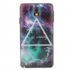 Stylish Galaxy Colored Drawing Pattern Protective Plastic Back Case for Samsung Galaxy Note 3