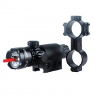 ESDY-LS02 Aluminum Alloy 5mW 3V Red Laser Rifle Scope Gun Sight - Black (1 x CR123A)