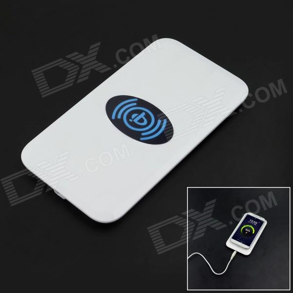 MC-02A Universal Qi Standard Wireless Phone Charger - White universal qi wireless charger for cellphone black