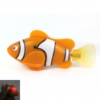 ROBO FISH Magical Flash Pet Fish Toy - Orange + White (2 × L1154)