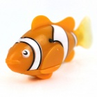 ROBO FISH Magical Flash Pet Fish Toy - Orange + White (2*L1154)