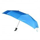 JUQI Folding Three Section Two Person Lover Umbrella - Blue