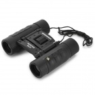 BRESSER 8X21 High Resolution 8X High Magnification Binocular Telescope - Black + Dark Red