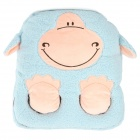 E-Warmer F2102 Cute Sheep Pattern USB Powered Feet Warmer Cushion - Blue + Pink