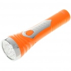 Rechargeable 9-LED 2-Mode White Light Flashlight (110~220V)