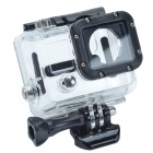GP86 Protective Case for Gopro Hero3 / Side Opening Protector - Black + Transparent