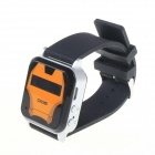 2.2 x 0.6cm LCD GPS Watch Locator - Orange + Black