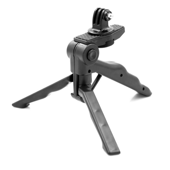 PANNOVO 2 in1 Portable Hand Grip or tripod stand Holder w/ Mount for Gopro Hero 4/ 2 / 3 / 3+ / SJ4000 floating hand grip handle mount for gopro hero hd 1 2 3 3