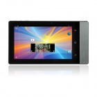 Portable Multimedia Pocket Cinema Pico Projector Quad-Core Android 4.1 Tablet PC - Black + Iron Grey