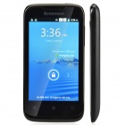 "Lenovo A369 Dual-Core Android 2.3 WCDMA Bar Phone w/ 4.0"" / Wi-Fi / Camera - Black"