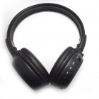 N65S Bluetooth V2.1 Stereo Headset Headphones for iPhone 4 / 4s - Black + Dark Brown